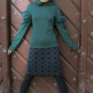 NATALA - pletená sukně nad kolena