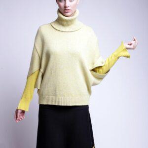 PULA svetr se skládanými rukávy