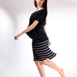 COCA- striped skirt from cotton