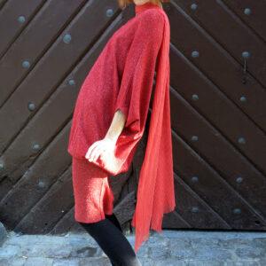 YANY-šaty společenské kimonové