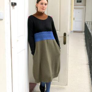 BEATA-šaty s kapsami
