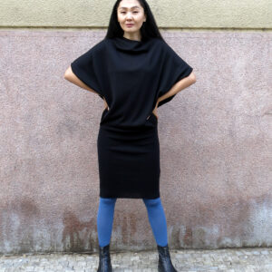 YANY-pletené šaty kimonové