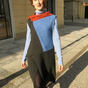 Dalumen-strange poncho coat