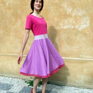 BON BON- šaty letní společenské