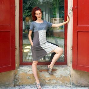 ROLA -letní šaty vícebarevné